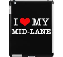 I Love My MID-LANE  [Black] iPad Case/Skin
