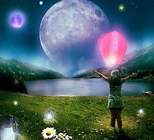Under The Crystal Moon  by crystaleyemedia