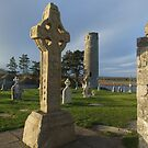 Clonmacnoise celtic cross by John Quinn