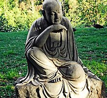 Nan Tien Buddhist Temple - Buddha Sculpture by Vanessa Pike-Russell