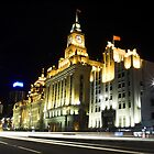 Shanghai Bund By Night by WoAi
