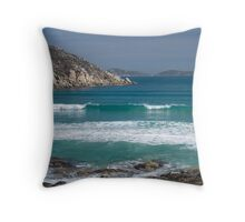 Picnic Bay - Wilsons Promontory Throw Pillow