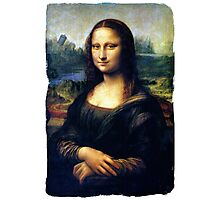 Mona Lisa Restored Photographic Print