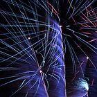 Australia Day Fireworks - Fremantle 2007 by Barry  Dux