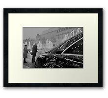 Paris France Champs Elysees Lomo LCA lomographic analog film photograph 35mm Framed Print