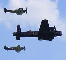 Battle of Britain Memorial flight 2 by Martin  Egner