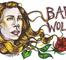 Bad Wolf - Sketch Style  by hanbohobbit