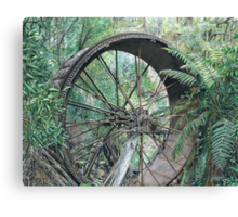 """wheel of Time"" Canvas Print"