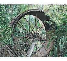 """""""wheel of Time"""" Photographic Print"""