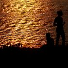 limnos - sunset couple by Perggals© - Stacey Turner