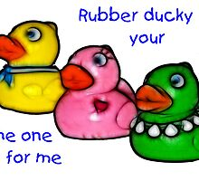 Rubber Ducky art by Virginia N. Fred