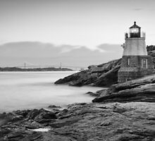 Castle Hill Lighthouse at Sunrise by Joshua McDonough Photography
