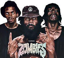 Flatbush Zombies Art by rendrata88