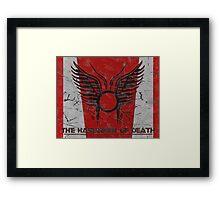 The Harbinger of Death, BSG Framed Print
