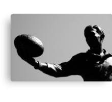 AFL player statue Canvas Print