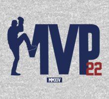 """Clayton Kershaw """"MVP"""" T-Shirt"""