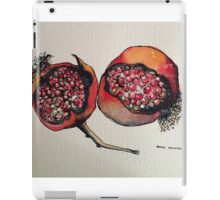 Pomegranate. Pen and wash 2012 iPad Case/Skin