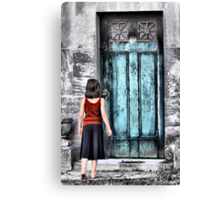 Reluctance Canvas Print