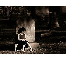 Grief Photographic Print