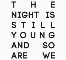 "The Pinkprint Nicki Minaj - ""The Night is Still Young"" Kids Clothes"