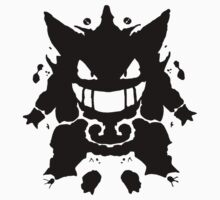 Who's That Inkblot?  It's Gengar! Kids Clothes