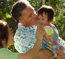 A Daddy's Kiss by Laurie Puglia