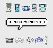 MARKIPLIER - PROUD MARKIPLITE by swhitewat