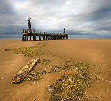 Old Pier Lytham St Anne's by eddiej