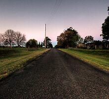 taree estate road by Matthew Jones