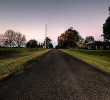 taree estate road by Matthew Jones