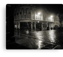 Blakes Square early dawn Canvas Print