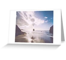 Evening Tide by M.A Greeting Card