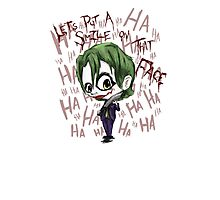 Little Joker Photographic Print