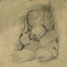 Drawn Teddy by David  Willison