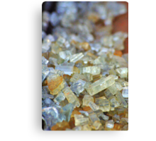 Glass Crystals! Canvas Print