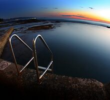 Lady's Baths Wollongong by steen