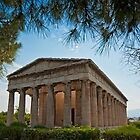 Temple of Hephaestus in Athens, Greece by Konstantinos Arvanitopoulos