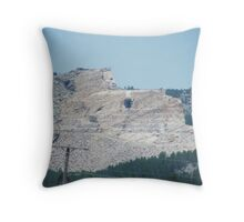 Crazy horse Throw Pillow