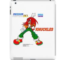 Freedom Fighter 2K3 Knuckles iPad Case/Skin