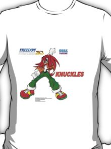 Freedom Fighter 2K3 Knuckles T-Shirt