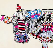 cow in new york  by bri-b