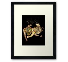 Siamese Twins Framed Print