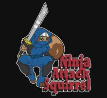 Ninja Attack Squirrel (DARK) by TehBurningDonut