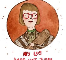 Log Lady by Sophie Corrigan