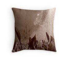 Mermaid's Garden Throw Pillow