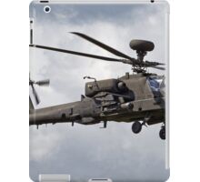 British Army Air Corps Augusta Westland WAH-64D Longbow Apache Attack Helicopter iPad Case/Skin