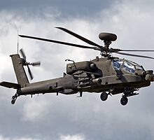 British Army Air Corps Augusta Westland WAH-64D Longbow Apache Attack Helicopter by Andrew Harker