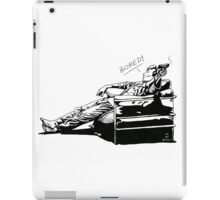 Sherlock - BORED (version without color) iPad Case/Skin