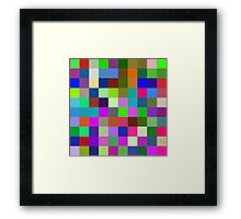What a mix of 3 primary colors can do! Framed Print