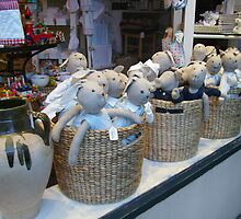 Bunnies in a Basket by skyhorse